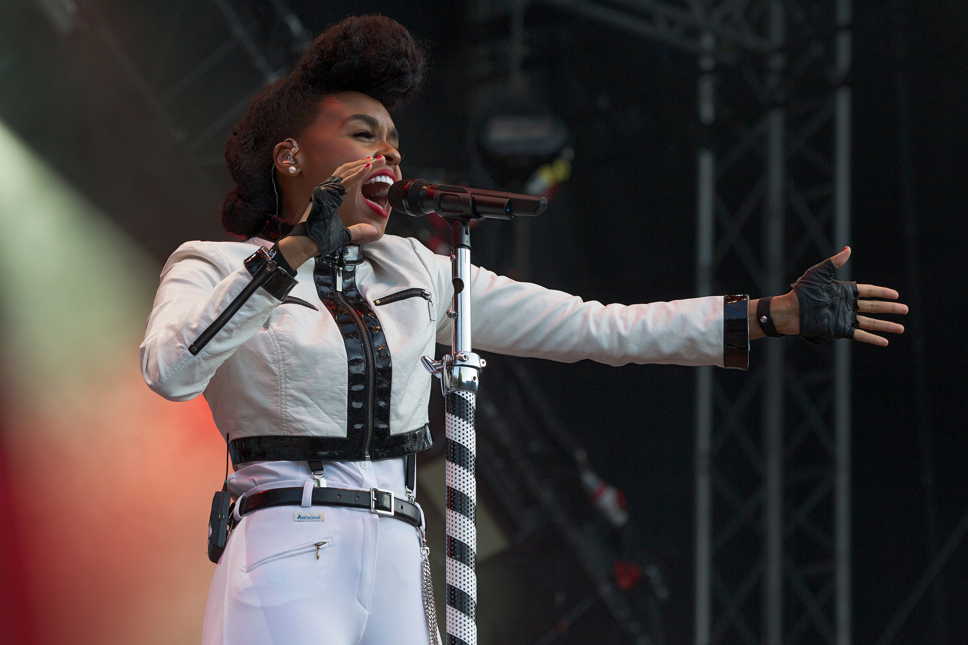 Volume for days: Janelle Monae