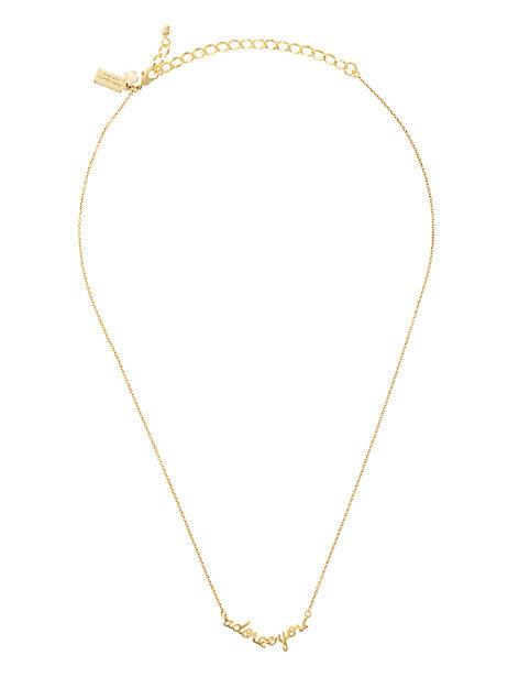"Kate Spade ""Mrs."" necklace"