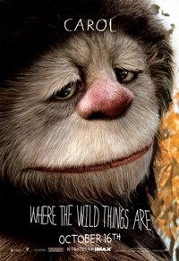 Carol in Where the Wild Things Are