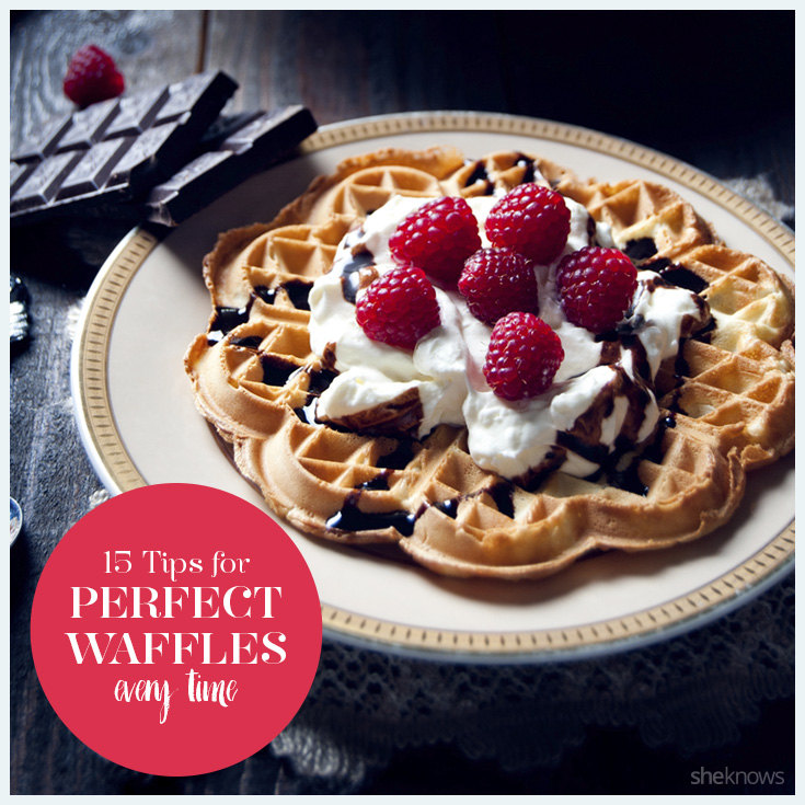 15 Tips for perfect waffles that will make you swear off the freezer aisle