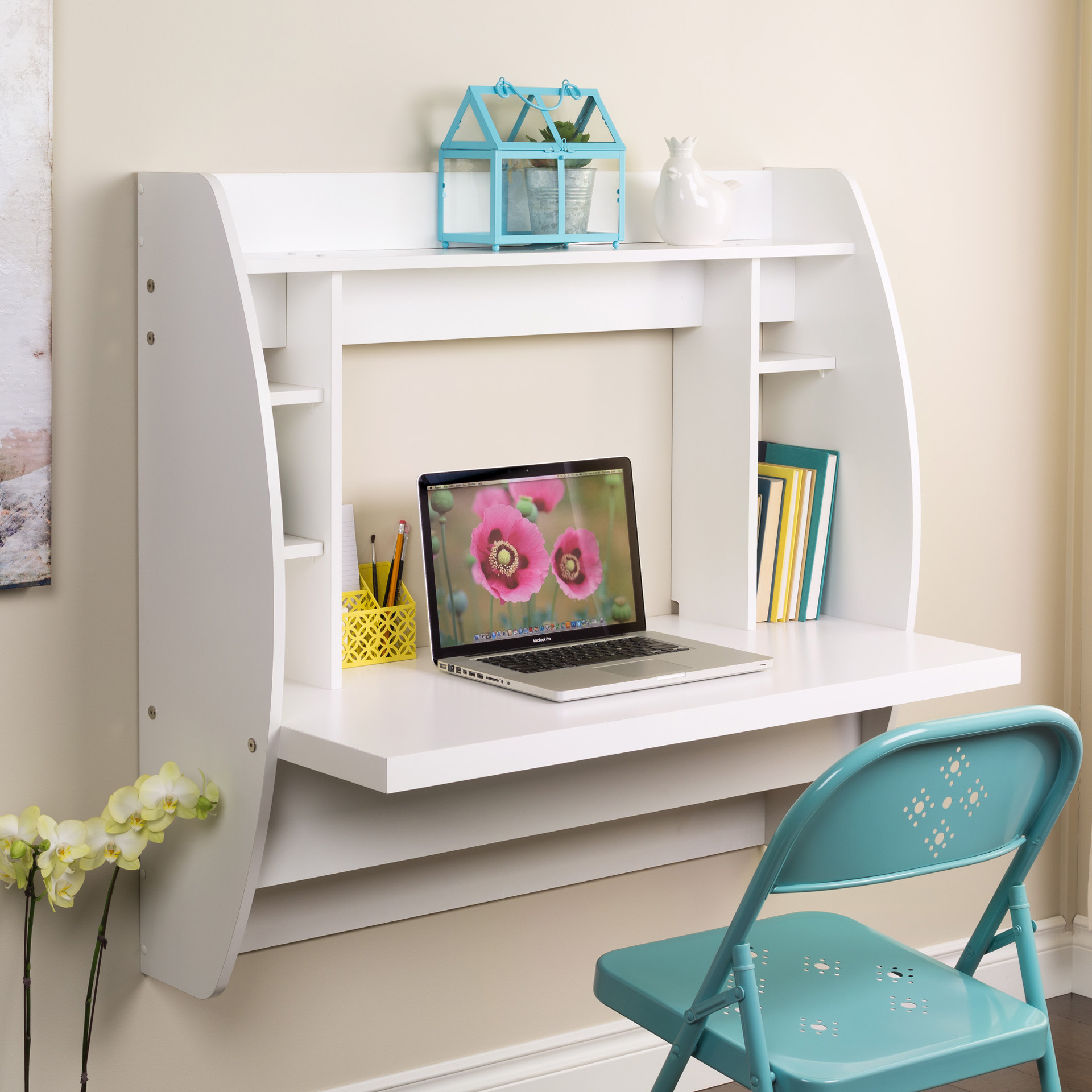 Why Wall Mounted Desks Are Perfect For Small Spaces Sheknows