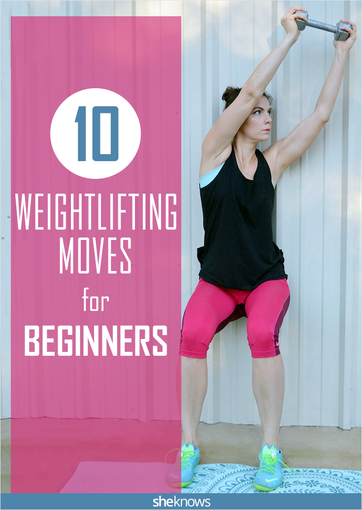 10 Weight Lifting Exercises For Beginners Sheknows