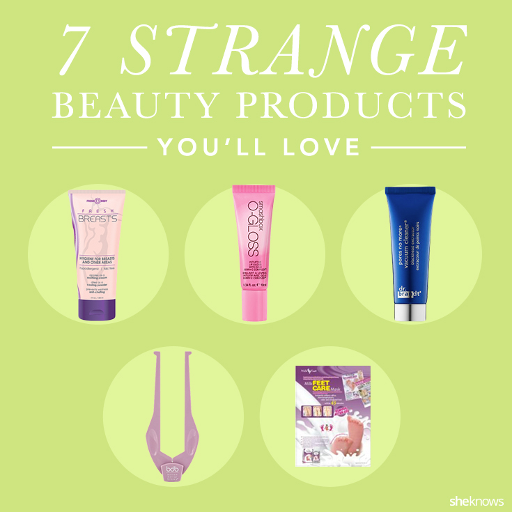 7 Strange beauty products you should be using