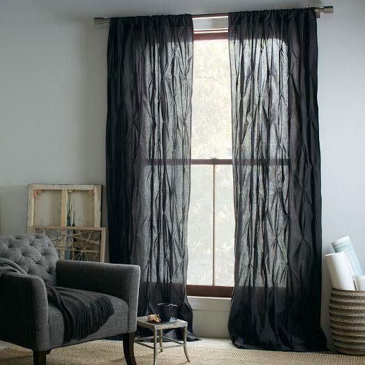 West Elm curtains