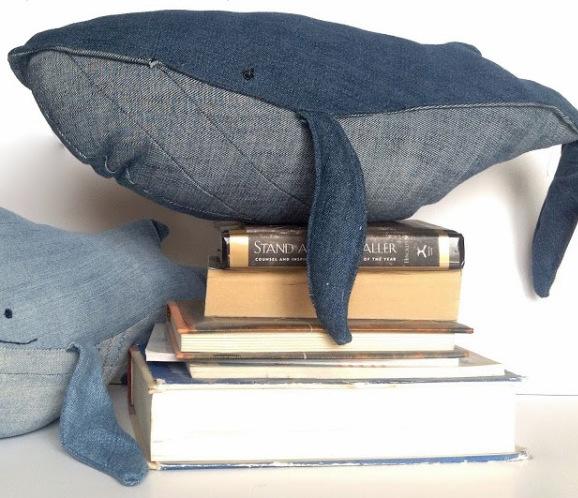 Denim Whale