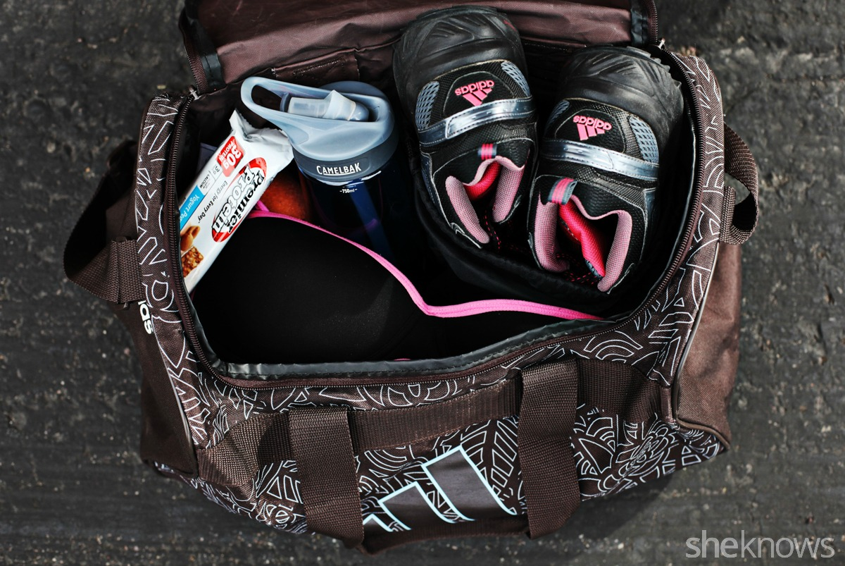 What's in my gym bag Nantale
