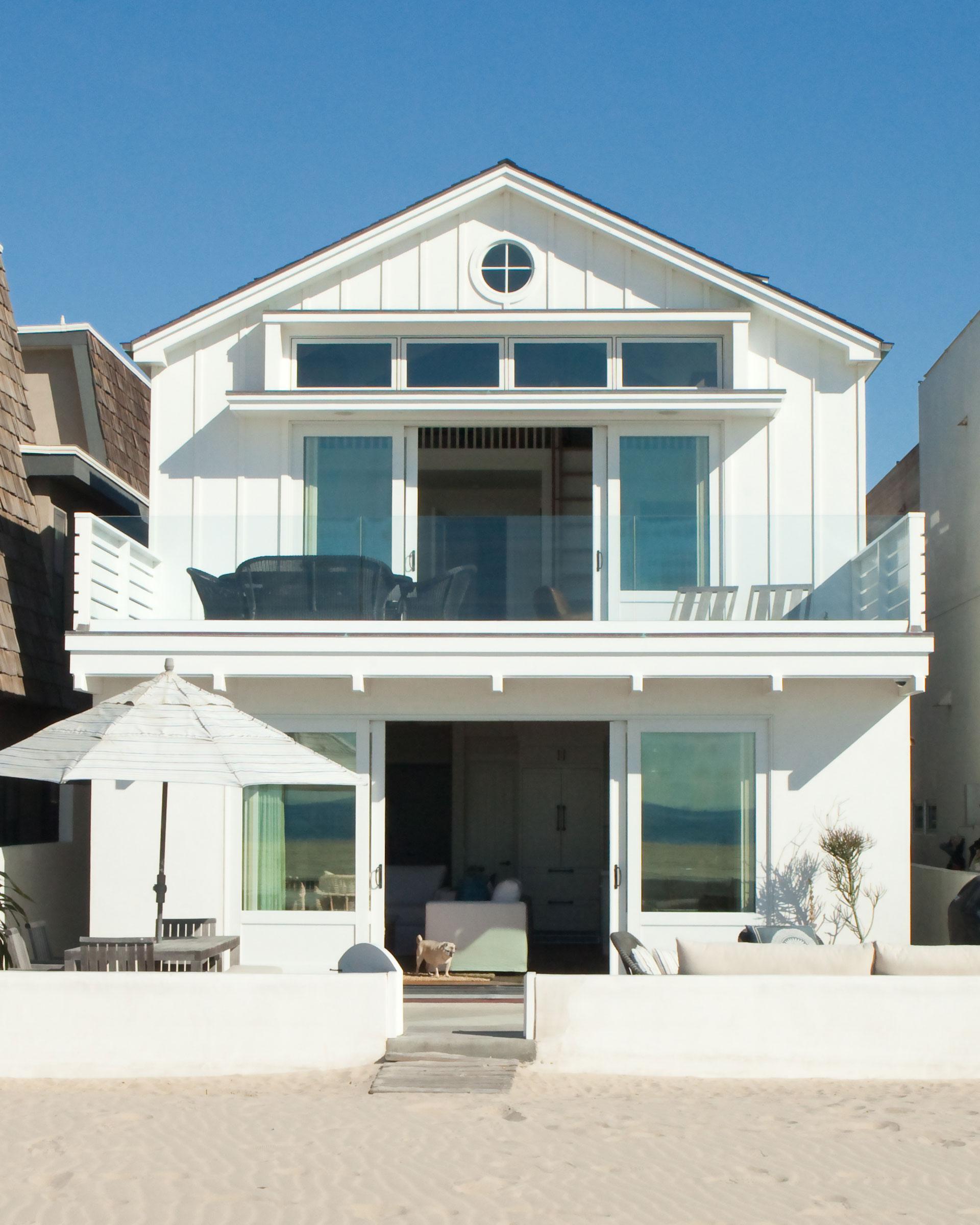 William Guidero designed Newport beach home