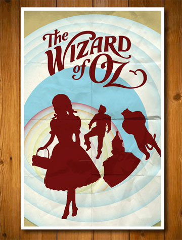 Wizard of Oz Etsy poster