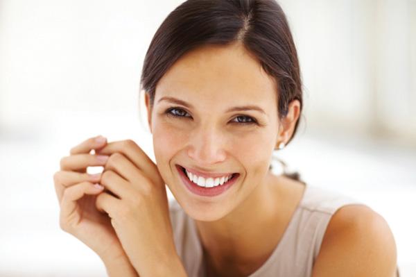 Woman with good self esteem