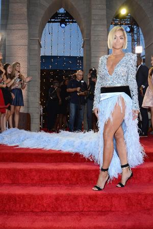 Rita Ora at the MTV VMAs
