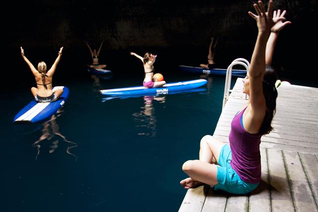 Yoga in a Hot Springs Crater – Park City, Utah