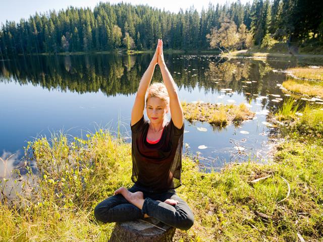 Yoga in the Norwegian Wilderness*