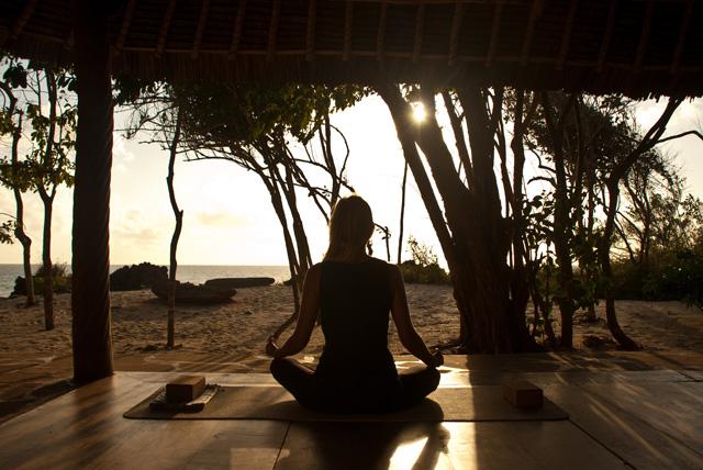 Yoga in the bush – Kenya*