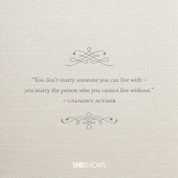 Unknown Author love quote