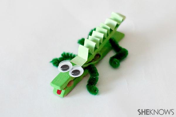 Alligator animal craft | Sheknows.com