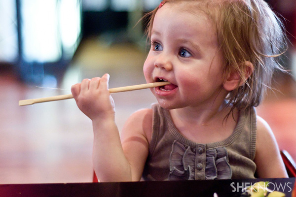 How To Take A Toddler to A Sushi Bar and Survive