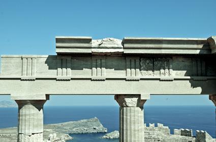 History in Rhodes, Greece