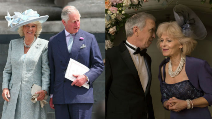 Camilla, Prince Charles, Steve Coulter, Deborah Ramsey, Lifetime Movie