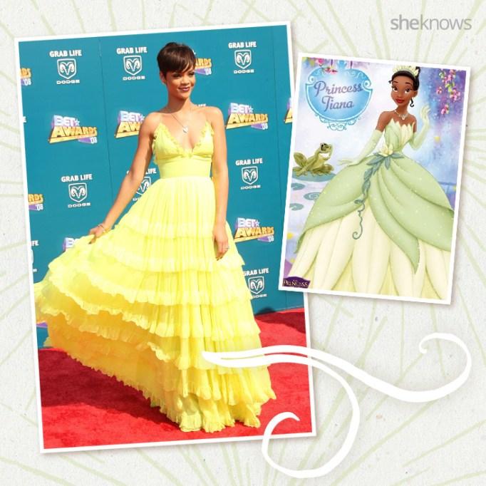 Rihanna as Disney princess Tiana
