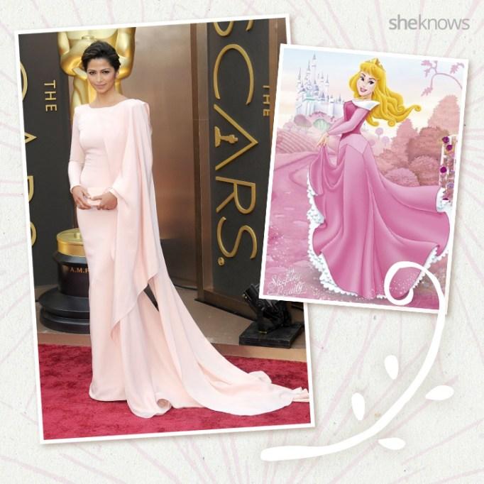 Camila Alves as Disney princess Aurora