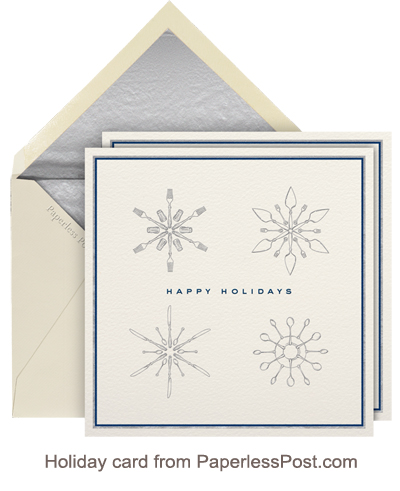 Holiday card from PaperlessPost.com