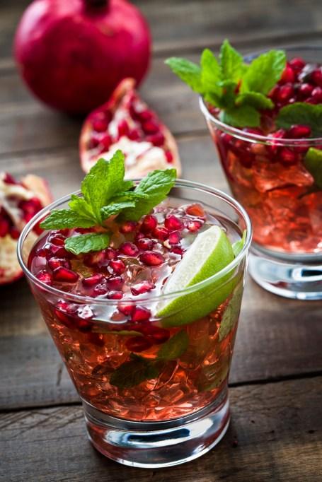 Pomegranate julep