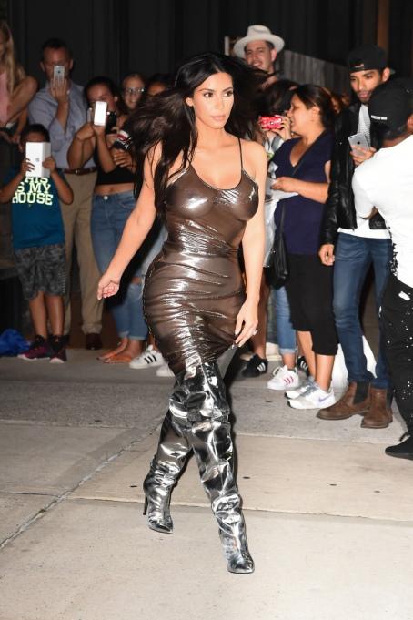 Kim Kardashian's Most Naked Looks: Walking around in New York City | Kim Kardashian Fashion