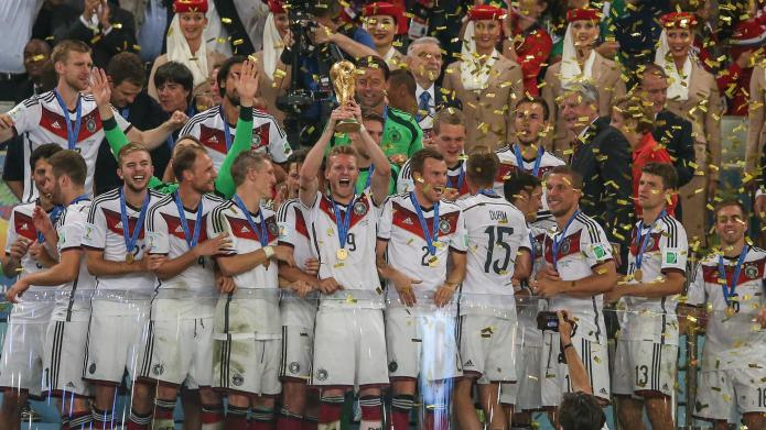 Germany wins the 2014 World Cup: