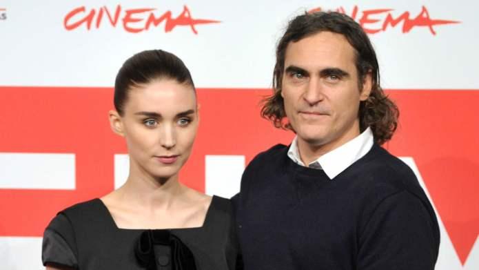 Joaquin Phoenix & Rooney Mara Low-Key