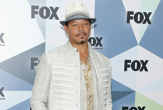 Terrence Howard attends 2018 Fox Network Upfront at Wollman Rink, Central Park
