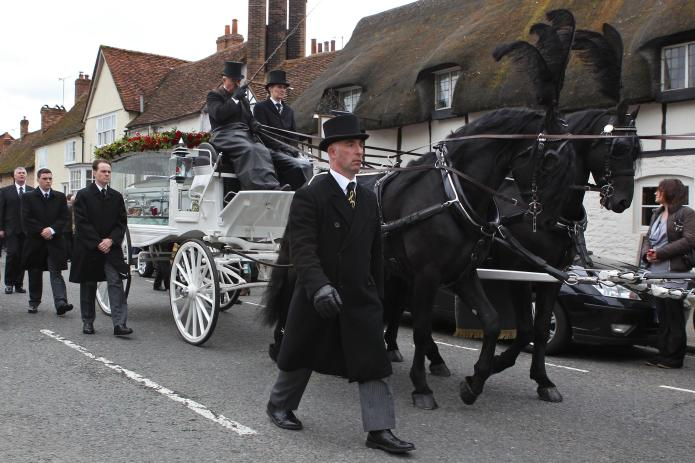 Robin Gibb laid to rest