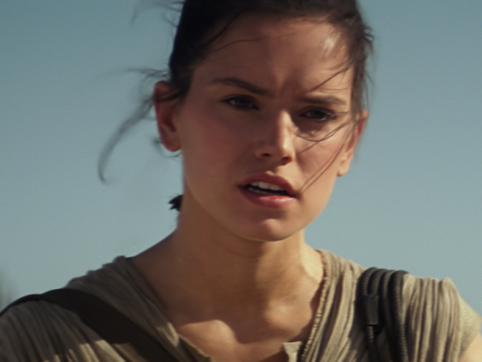 daisy ridley rey star wars: the force awkens
