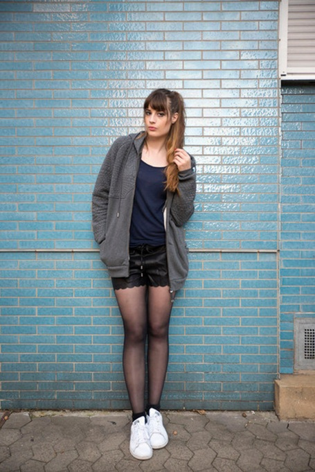 Bloggers Show You How to Wear Shorts for Fall : Andy Sparkles