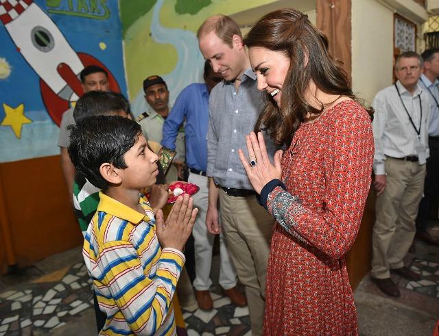 Kate Middleton's style on royal tour of India