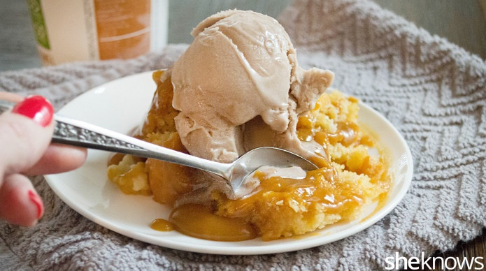 Slow cooker butterscotch pudding cake makes