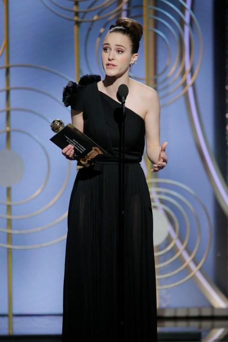 2018 Golden Globe Speeches: Rachel Brosnahan