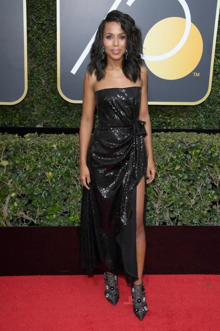 Best Golden Globes fashion 2018: Kerry Washington