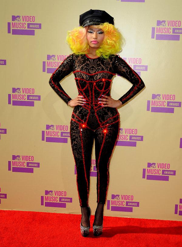 Worst dressed of VMAs 2012