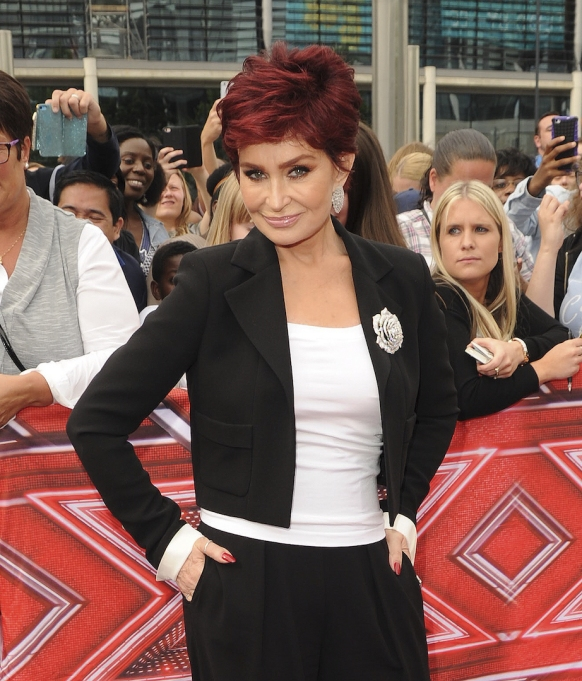 Sharon Osbourne red carpet