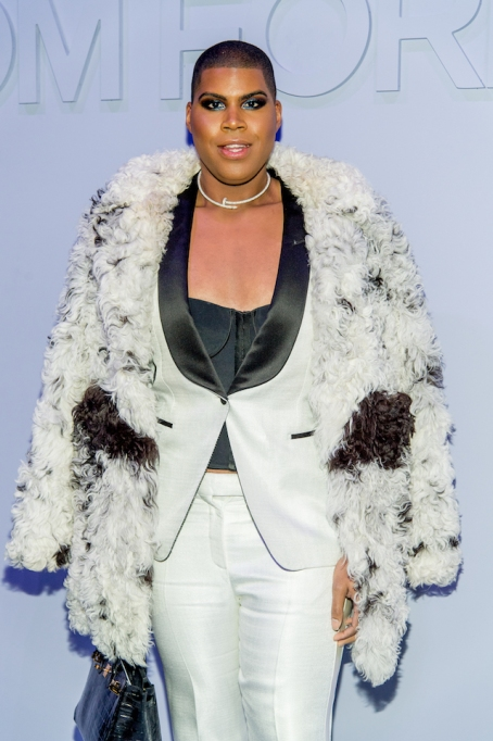 NYFW 2018 Celebrity Sightings: EJ Johnson