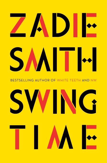 'Swing Time' Zadie Smith book cover