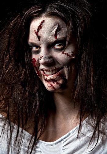Halloween tutorial: Zombie