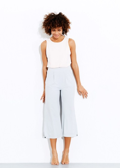The Best Stores to Shop for Fashion Basics: ADAY Cooler Days Culottes | Summer style 2017