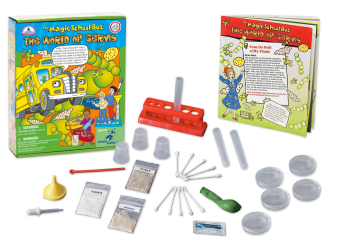 Magic School Bus: World Of Germs Science Kit