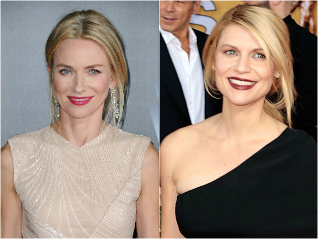 Naomi Watts and Claire Danes