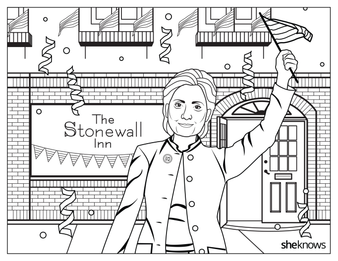 Hillary Clinton at Stonewall Inn