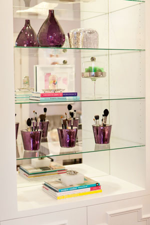Abbe Fenimore shelf with mirror