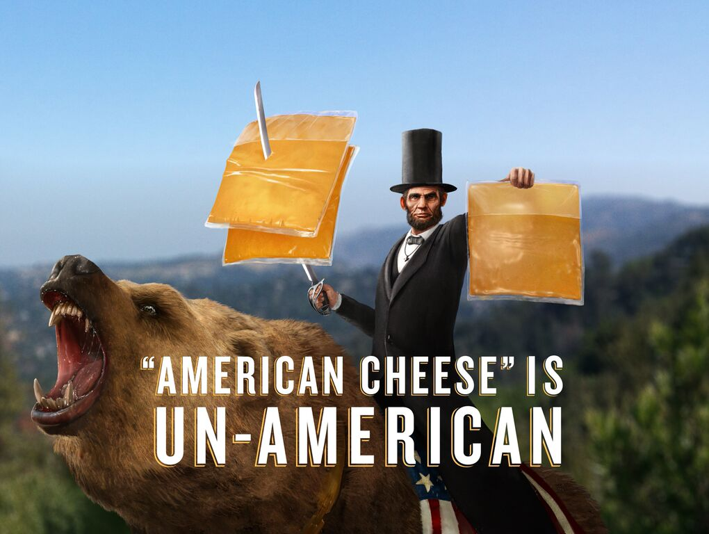 abe lincoln american cheese