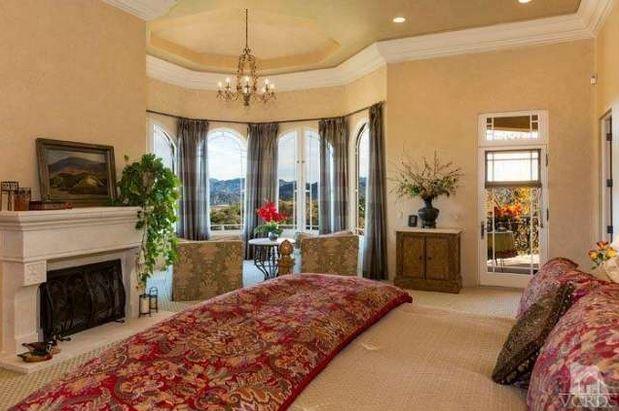 Britney Spears bedroom