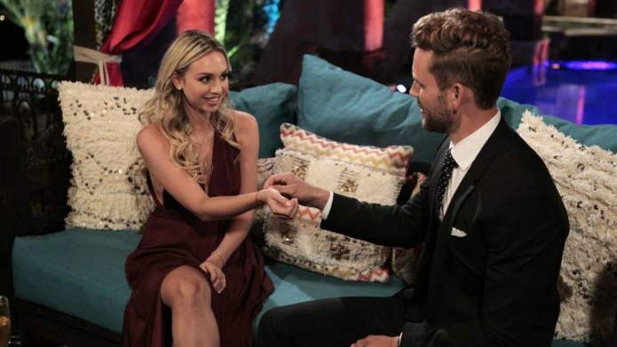 Somehow Bachelor's Corinne snuck onto 2